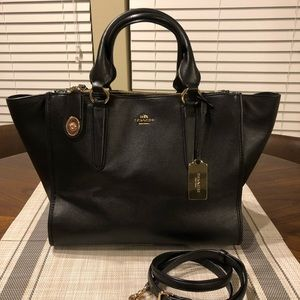 COACH Crosby Smooth Leather Carryall